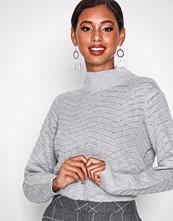 Y.a.s Yasbeatrice Knit Pullover Lys grå