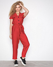 New Look Button Pocket Front Jumpsuit