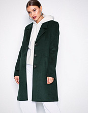 Selected Femme Mørk turkis Slfsasja Wool Coat Noos B