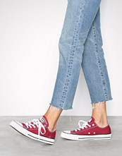 Converse All Star Canvas Ox Cream/Red