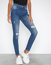 River Island Mid Blue Amelie Maggie Jeans