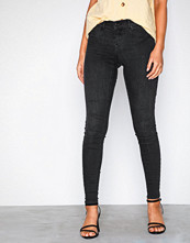 Gina Tricot Skinny low waist superstretch jeans Dark Blue