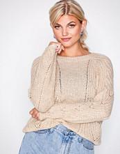 Only Lys grå onlOSLO L/S Pullover Cc Knt