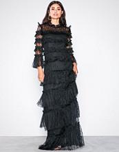 By Malina Black Carmine maxi dress