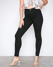Missguided Black Skinny High Waisted Jeans
