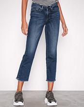 Only Mørk blå onlNEW Sissi Reg Strt Ank Jeans Cre