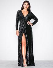 By Malina Black Zola dress