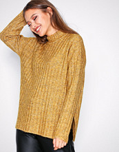 Pieces Lys brun Pcsanni Ls Wool Knit Noos