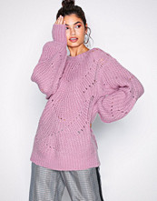 NLY Trend Rosa Pattern Detail Knit