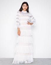 By Malina White Carmine maxi dress