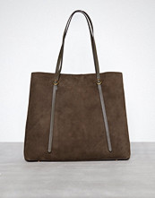 Polo Ralph Lauren Olive Lennox Tote Large