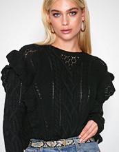 Polo Ralph Lauren Black Ls Rffle Po-Long Sleeve-Sweater