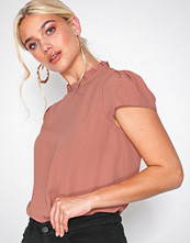 River Island SS Shia Shell Top Dark Pink