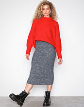 Pieces Pcfauna Long Knit Skirt