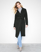Only Mørk grå onlAMY Sharon Long Wool Coat Cc Otw