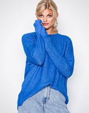 Vero Moda Blå Vmcute Ls Oversize Blouse
