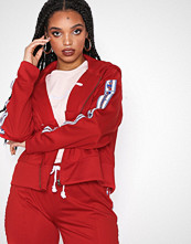 Cènnìs Hooded Full Zip Top Red