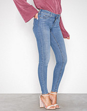 Gina Tricot Skinny low waist superstretch jeans Mid Blue