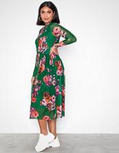 Y.a.s Mørk grønn Yasvicca Ls Mesh Dress