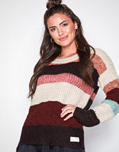 Odd Molly Red wolly blocks sweater