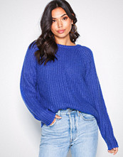 NLY Trend Hand Knit Sweater Blå