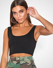 Missguided Scoop Neck Cotton Bralet