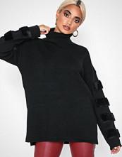 Y.a.s Svart Yasfluffa Knit Pullover