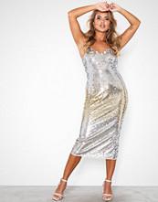 Maya Sequin Cami Midi Dress