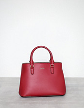 Lauren Ralph Lauren Crimson Marcy Satchel Mini