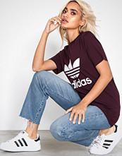 Adidas Originals Maroon Trefoil Tee