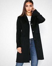 Selected Femme Svart Slfboa Wool Coat B