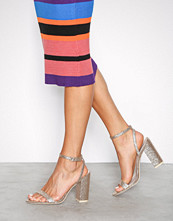 NLY Shoes Gull Brilliant Block Heel Sandal