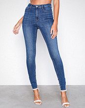 Gina Tricot Dark Blue Molly High Waist Jeans