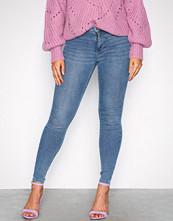 Gina Tricot Blå Molly High Waist Jeans