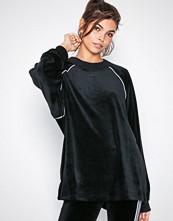 Adidas Originals Svart Velour Sweater