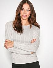 Polo Ralph Lauren Grey Julianna-Classic-Long Sleeve-Sweater