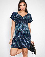 Y.a.s Mørk blå Yastrighty Sequin Dress - Da