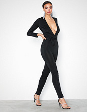 NLY One Low Plunge Glam Jumpsuit