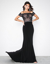 Forever Unique Black Rosa Dress