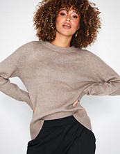 Only Lys grå onlORLEANS L/S O-Neck Pullover Knt
