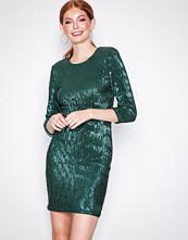 NLY Trend Grønn Sequin Power Dress