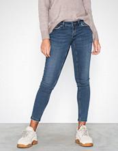 Noisy May Mørk blå Nmeve Lw Pocket Piping Jeans VI877