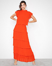 Y.a.s Mörkorange Yasuma Ankle Dress - Da