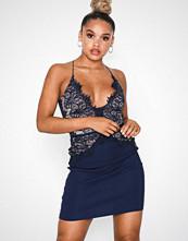 Rare London Body Lace Mini Dress