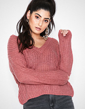 Only Rosa onlBLUEBELL L/S V-Neck Pullover Woo