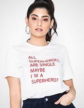 Vero Moda Hvit Vmandrea S/S T-Shirt Exp Pi