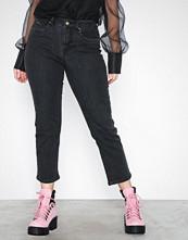 Only Svart onlFIONA Mid Ank Cigarette Jeans Bj