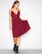 NLY Eve Rose Sparkle Mesh Dress