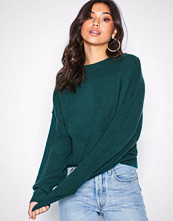 NLY Trend Green Sleeve Focus Knit