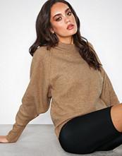 Selected Femme Lys brun Slfena Ls Knit O-Neck B